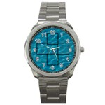 swimming pool mini frame watch - Sport Metal Watch