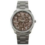 desert camo mini frame watch - Sport Metal Watch