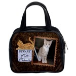 Cat Cuteness Classic Handbag - Classic Handbag (Two Sides)