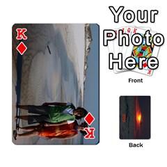 King 2009 Destin Final Final By Laura Rejko   Playing Cards 54 Designs   V4sdmxjuauau   Www Artscow Com Front - DiamondK