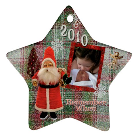 Alona Jonathan Ornament 2010 By Karen   Ornament (star)   7e6aitxa6llq   Www Artscow Com Front