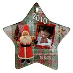 Alona Jonathan Ornament 2010 - Ornament (Star)