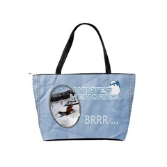 Winter Wonderland Shoulder Handbag By Lil    Classic Shoulder Handbag   Sy1g5kd2rb72   Www Artscow Com Back