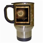 I heart You Mug 15 - Travel Mug (White)