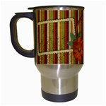Pumpkin Travel Mug - Travel Mug (White)