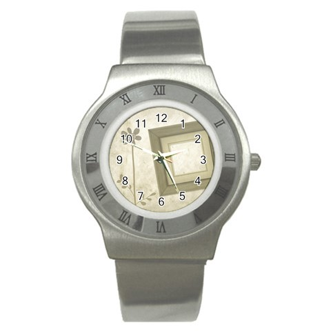 Do You Remember? Watch 01 By Carol   Stainless Steel Watch   9c1uxph29e2y   Www Artscow Com Front