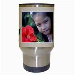 Travel Mug  Template  Reignflower By Jennyl   Travel Mug (white)   Sz5awqgw2qhb   Www Artscow Com Center