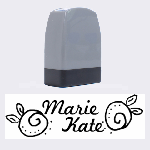 Marie Kate   Rubber Stamp By Carmensita   Name Stamp   D65l1umt8as9   Www Artscow Com 1.4 x0.5  Stamp