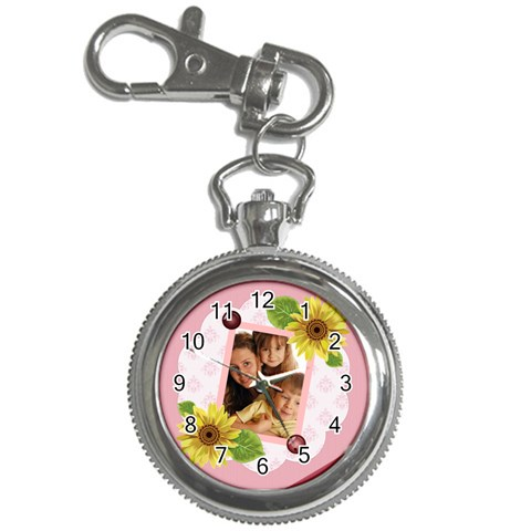 Flower Kids By Wood Johnson   Key Chain Watch   2s7ab11wdbo8   Www Artscow Com Front
