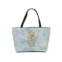 Little Boys Shoulder Bag By Joan T   Classic Shoulder Handbag   Ra0kz20sgdjv   Www Artscow Com Back
