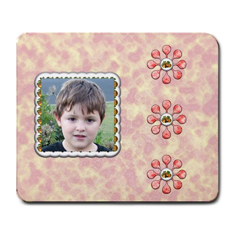 Summer Time Mouse Mat By Joan T   Collage Mousepad   Hgizm6p8y4o1   Www Artscow Com 9.25 x7.75 Mousepad - 1