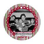Circle Christmas Ornament 2 - Ornament (Round)