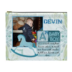 Baby Boy Xl Cosmetic Case By Lil    Cosmetic Bag (xl)   B94tbz1hgcmd   Www Artscow Com Front