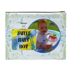 Baby Boy Xl Cosmetic Case By Lil    Cosmetic Bag (xl)   B94tbz1hgcmd   Www Artscow Com Back