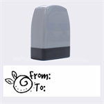 From-To - Rubber stamp - Name Stamp
