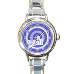 Smile watch 01 - Round Italian Charm Watch