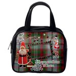 Old fashioned Santa Christmas Remember when purse - Classic Handbag (One Side)