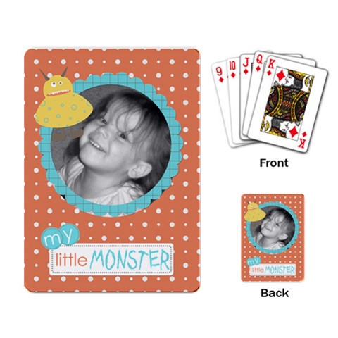 Fun Cards 6 By Martha Meier   Playing Cards Single Design   I8bfksunv7kf   Www Artscow Com Back