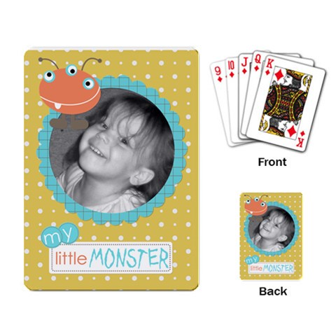 Fun Cards 7 By Martha Meier   Playing Cards Single Design   Qzb0fg2i6nsd   Www Artscow Com Back