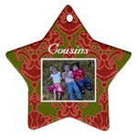 Audrey Christmas Ornament - Ornament (Star)