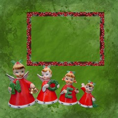 Vintage Christmas Mix Match Magic Cube #2 By Ellan   Magic Photo Cube   52qqdfe4c1qm   Www Artscow Com Side 3