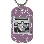 Purple Haze Dog Tag 5 - Dog Tag (One Side)