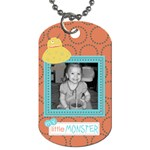Little Monster Dog Tag 2 - Dog Tag (One Side)
