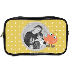 Little Monster Cosmetic Bag 1 By Martha Meier   Toiletries Bag (two Sides)   Gxmp2dx71ec6   Www Artscow Com Back