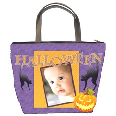 Halloween By Joely   Bucket Bag   Liccos44r3zv   Www Artscow Com Back