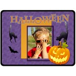 halloween - Fleece Blanket (Large)