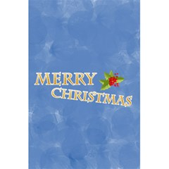 Xmas By Joely   5 5  X 8 5  Notebook   U8y9rhusyhn9   Www Artscow Com Back Cover