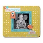Little Monster Mousepad 1 - Large Mousepad