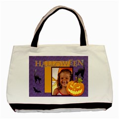 Halloween By Joely   Basic Tote Bag (two Sides)   Uf4nlholx2ok   Www Artscow Com Front