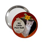 My Little Purr-Ball Handbag Mirror - 2.25  Handbag Mirror