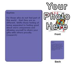 Flower Essences By Cj   Multi Purpose Cards (rectangle)   Gj8zzlzwodss   Www Artscow Com Back 3