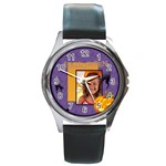 halloween - Round Metal Watch