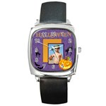 Halloween - Square Metal Watch