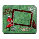 Christmas elf remember when large mousepad