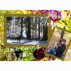 Final Christmas Card 2010 By Billy   5  X 7  Photo Cards   Expnlo51ronv   Www Artscow Com 7 x5 Photo Card - 1