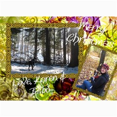 Final Christmas Card 2010 By Billy   5  X 7  Photo Cards   Expnlo51ronv   Www Artscow Com 7 x5 Photo Card - 15