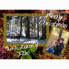 Final Christmas Card 2010 By Billy   5  X 7  Photo Cards   Expnlo51ronv   Www Artscow Com 7 x5 Photo Card - 23