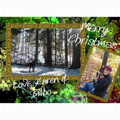 Final Christmas Card 2010 By Billy   5  X 7  Photo Cards   Expnlo51ronv   Www Artscow Com 7 x5 Photo Card - 80
