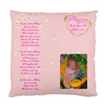 mommy pillow - Standard Cushion Case (One Side)