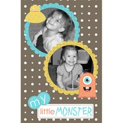 Little Monster Notebook 1 By Martha Meier   5 5  X 8 5  Notebook   Edjnfe8lq9zb   Www Artscow Com Front Cover