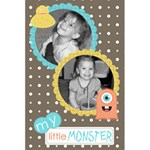 Little Monster notebook 1 - 5.5  x 8.5  Notebook