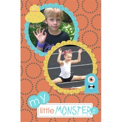 Little Monster Notebook 2 By Martha Meier   5 5  X 8 5  Notebook   6wt5uphm8cic   Www Artscow Com Front Cover