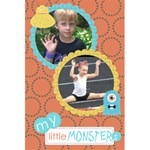 Little Monster notebook 2 - 5.5  x 8.5  Notebook