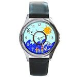 Sea - watch - Round Metal Watch