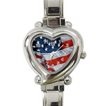 American heart - Watch - Heart Italian Charm Watch