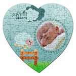 Sweet dreams - Puzzle - Jigsaw Puzzle (Heart)